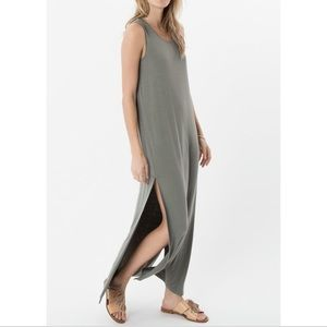 Z supply olive maxi dress